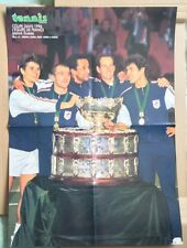 French Davis Cup Victory December 1996 Original Vintage Souvenir