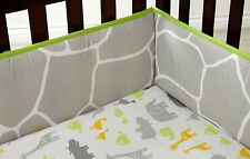 Carter's Animals Collection Baby Double sided ( Crib Bumper only ) Jungle Theme