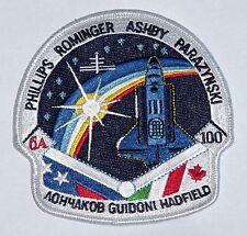 Écusson patch spatiale NASA sts-100 navette spatiale Endeavour... a3122