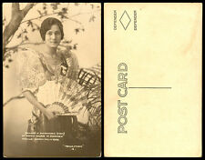 Philippines 1929 Manila Carnival Queen Princess Santa Maria RPPC 6