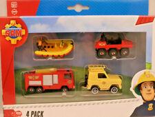 ++Feuerwehrmann SAM++Fahrzeuge ++4 Pack++Die Cast Metall+Dickie++neu und unbesp.