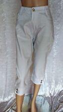 Damen-Caprihosen aus Baumwollmischung Hosengröße 42 Damenhosen