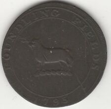 More details for 1795 middlesex foundling fields halfpenny token | pennies2pounds