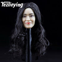 1/6 scale Exquisite ladies Female head sculpt model Asian actress Shu Qi