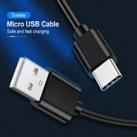 USB-C Type-C Data Sync Charger Fast Charging Cable For Xiaomi Samsung Universal