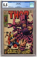 Thor 168 (CGC 5.5) Origin of Galactus; Jack Kirby; Marvel Comics; 1969 (j#6601)