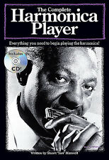 LEARN To Play The Complete Player BOOK HARMONICA CD NEW