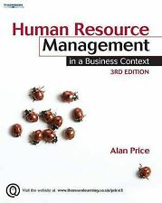 Human Resource Management in a Business Context by Alan Price (Paperback, 2007)