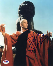 DAVID CARRADINE SIGNED AUTOGRAPHED 8x10 PHOTO KUNG FU RARE PSA/DNA