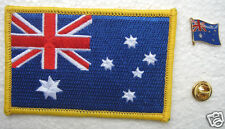 Australia National Flag Pin and Patch Embroidery