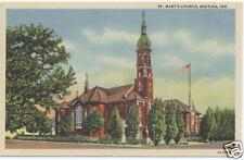 WHITING INDIANA ST. MARY'S CHURCH POSTCARD