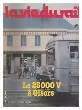 LA VIE DU RAIL 1982 N° 1864 MODELISME A SOTTEVILLE LES ROUEN