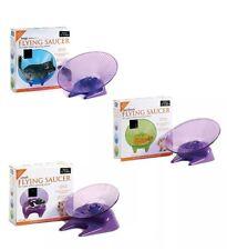 flying saucer silent exercise wheel hamster mouse gerbil rat s m l