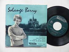 SOLANGE BERRY Les mirettes ... PACIFIC 90307 B Orchestre CLAUDE VASORI