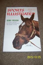1959 Sports Illustrated KENTUCKY DERBY Preview SILVER SPOON No Label NEWS STAND