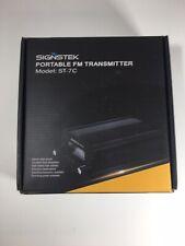 Signstek ST-7C FM Transmitter Mini Radio Stereo Station PLL LCD with Antenna ...