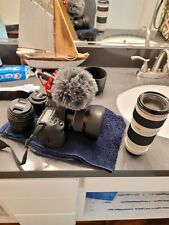 New ListingCanon Eos 5D Mark Iv 30.4Mp Dslr Camera - Black with lenses.