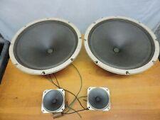Pair of old 12 inch RCA speakers with tweeters all original 100% Working