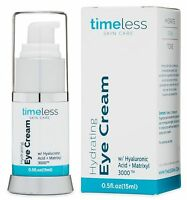hydrating hyaluronic acid eye cream 0.5 oz (15 ml) Timeless Skin Care