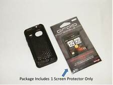 Gray Fitted Case & 1 Screen Protector Only For HTC Droid Incredible Cell Phone