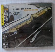 ERIC CLAPTON & BB King-Riding With The King Japon SINGLE CD OBI Nouveau WPCR - 10801