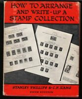 1965 How to Arrange & Write-Up A Stamp Collection 5th ed 60 pgs HB