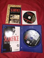 Scarface Collectors Edition Complete With Bonus DVD Playstation 2 PS2 FREE POST