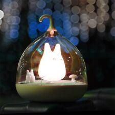 Micro landscape Cute My Neighbor Totoro Figure Statue LED Night Light Lamp US