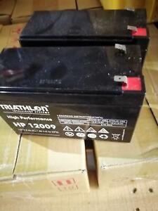 24 Volt (2x12 Volt) 9 Ah AGM Batterie für Solar; USV etc.