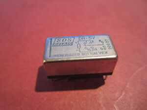 B8 HIGH SPEED DIL REED RELAY AROMAT SDS RELAIS DR-5V ROCKMAN STOMPBOX