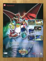 Monster Rancher 3 PS2 Playstation 2 2001 Vintage Print Ad/Poster Authentic Art