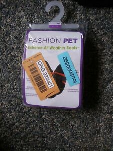 NIB Ethical Stylish Pet EXTREME ALL WEATHER Dog Boots XS RED