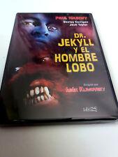 """DVD """"DR. JEKYLL Y EL HOMBRE LOBO"""" LEON KLIMOVSKY PAUL NASCHY JACK TAYLOR SHIRLEY"""