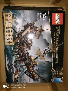 LEGO bateau pirates des caraïbes 71042 silent Marry no black pearl no figurine