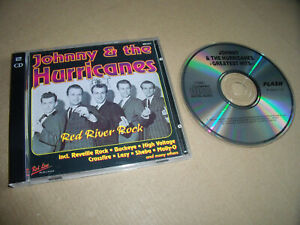 2 x Johnny & The Hurricanes - Red River Rock + Greatest Hits - in einer Hülle