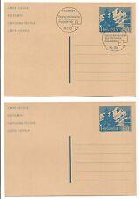 5 Entiers Postaux 1991/94 HELVETIA SUISSE  /EP18