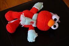 Plush Sesame Street Toy Fisher Price Mattel Elmo Stuffed Beanie Scarf Hat Winter
