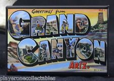 "Greetings from The Grand Canyon Vintage Postcard 2"" X 3"" Fridge Magnet. Arizona"