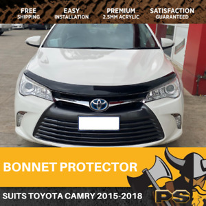 Bonnet Protector to suit Toyota Camry 04/2015-2018 Tinted Guard