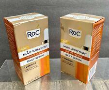 RoC Multi Correxion Revive + Glow Daily Serum w/Vitamin C ~ 1.0 fl oz