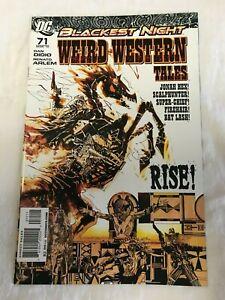 Weird Western Tales (DC, 2010) #71 Jonah Hex, Scalphunter, Firehair, Bat Lash