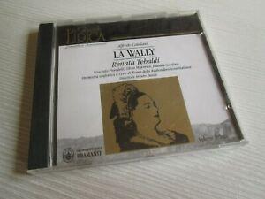 RENATA TEBALDI La Wally CD LA GRANDE LIRICA ALFREDO CATALANI ARTURO BASILE 1994