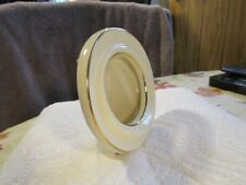 HIGH QUALITY~[LENOX]~  FINE CHINA PICTURE FRAME TABLE TOP ~IVORY+ 24K GOLD TRIM