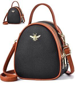 Women Shell Handbag Shoulder Crossbody Bag Ladies PU Satchel Quilted Purse Tote