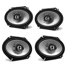 """2 PAIRS KENWOOD KFC-C6865S Sport Series 6""""x8"""" 2-Way Car Audio Speakers"""