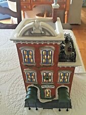 Dept 56 Heritage Village Christmas In The City Series Ivy Terrace Apartments