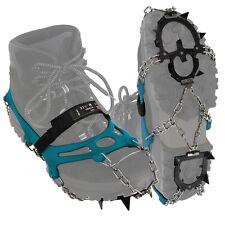 ALPIDEX Schuh Spikes Grödel Schneeketten Schuhe Eiskrallen Schuhketten 12 Zähne