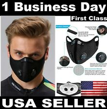 MASK Activated CARBON FILTER Dual VALVES PM2.5 JW REUSABLE FACE Luke 21.11 Cover