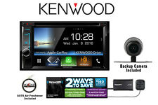 Kenwood DDX6903S DVD Receiver w/ SiriusXM Satellite Radio and Backup Camera PKG