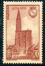 STAMP / TIMBRE DE FRANCE NEUF N° 443 ** / CATHEDRALE DE STRASBOURG /